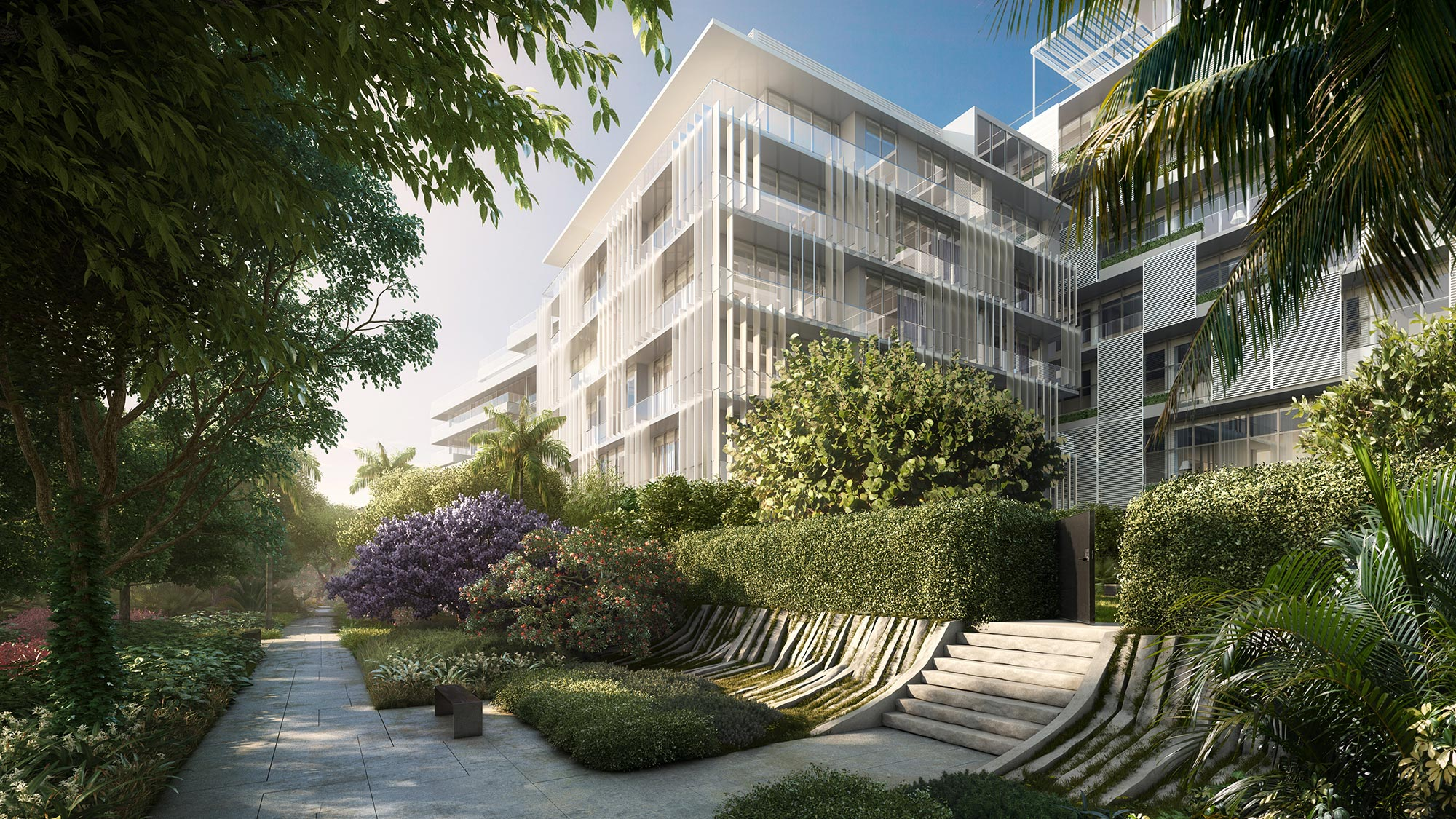 The Ritz-Carlton Residences Miami Beach Meditation Garden
