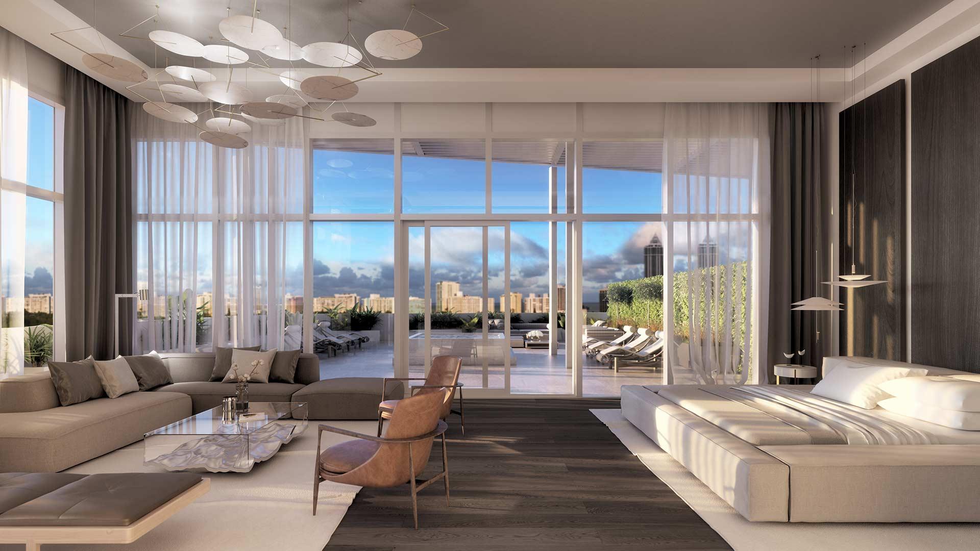 The Ritz-Carlton Residences Miami Beach Penthouse 3