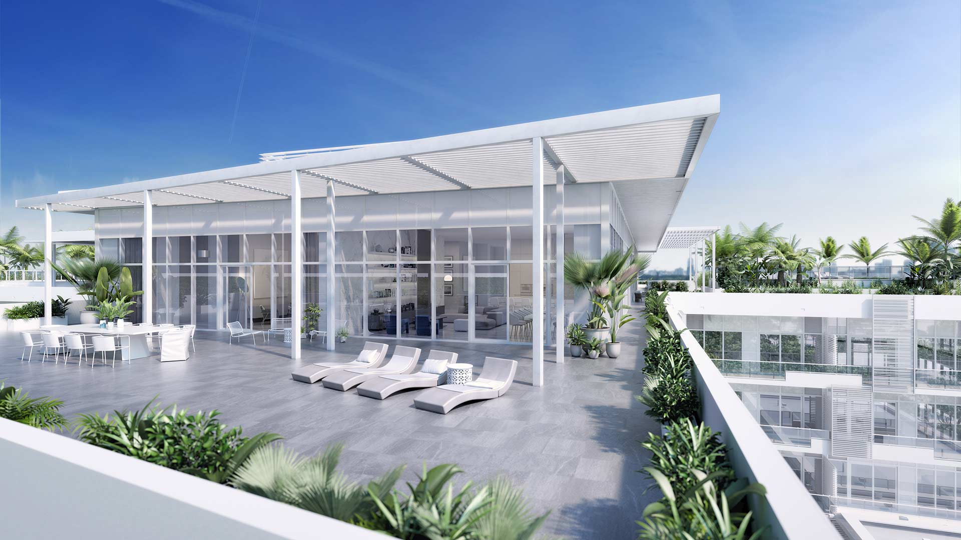 The Ritz-Carlton Residences Miami Beach Penthouse 4 Terrace
