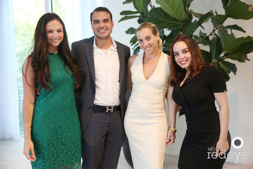 Gaby Avila, Alexander Riera, Allison Greenfield, Elietis Diaz