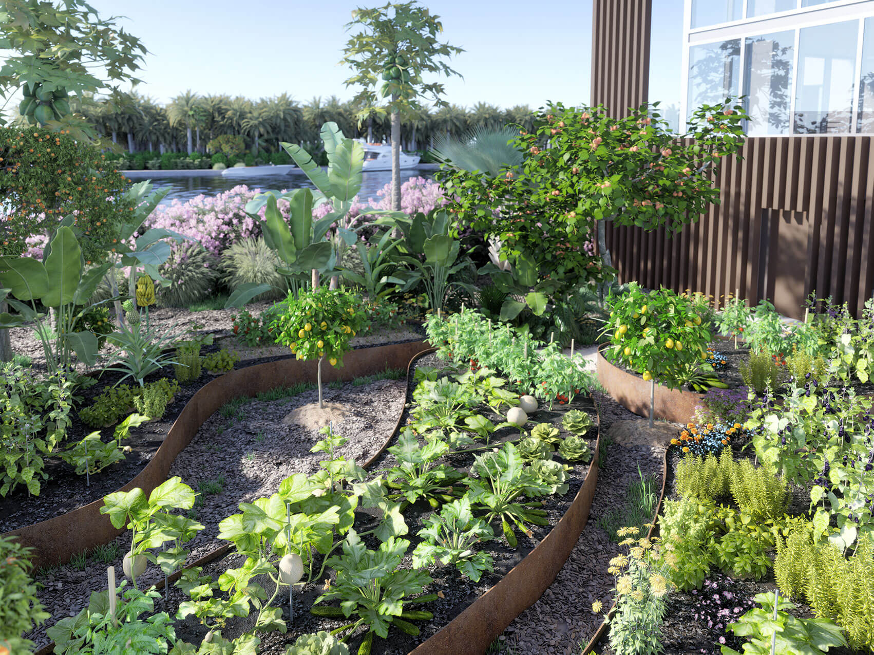 The Ritz-Carlton Residences, Miami Beach Edible Garden