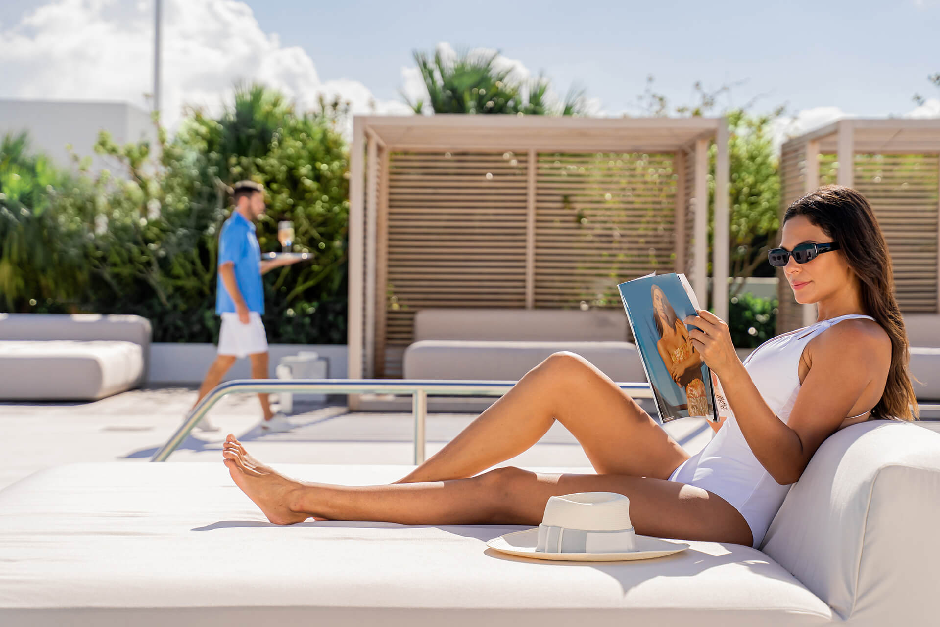 Ritz Carlton Residences Miami Beach Poolside Service