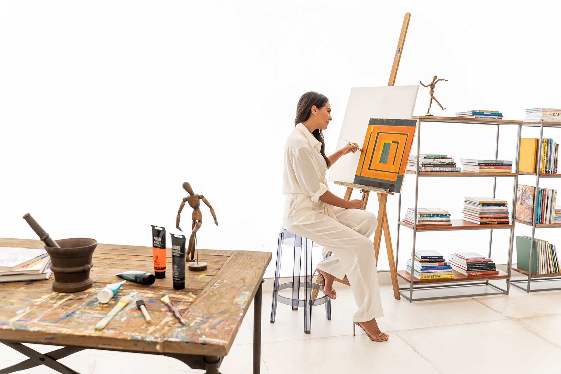 Ritz Carlton Residences Miami Beach Residential Art Studio